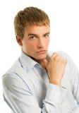 英俊的人年轻人 库存照片