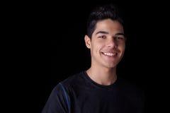 英俊的人微笑的年轻人 图库摄影