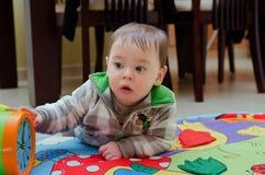 英俊的婴孩 免版税库存图片