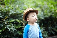 英俊的婴孩 免版税图库摄影