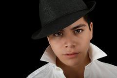 英俊的拉丁美州的演员 免版税库存图片