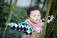 英俊的男婴 图库摄影