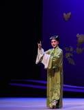 """英俊的年轻人Kunqu歌剧""""the西部Chamber† 免版税库存照片"""