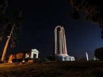 英勇纪念碑 库存图片