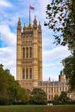 英国上议院维多利亚塔威斯敏斯特伦敦英国 免版税库存图片