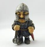 英国中世纪小锡兵小雕象 库存照片