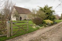英国中世纪教会 库存图片