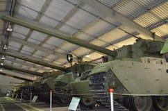 英国中等和轻型坦克 免版税库存图片