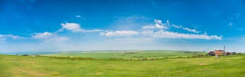 英国乡下全景 免版税库存照片