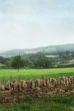 英国乡下风景看法  库存图片