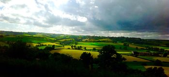 英国乡下 库存照片