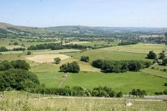 英国乡下 库存图片