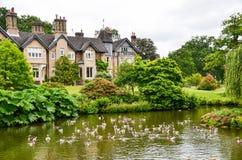 英国乡间别墅 库存图片