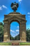 英国人布尔人战争纪念建筑,约翰内斯堡 库存照片