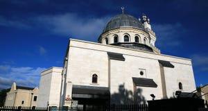 英国伊斯兰清真寺牛津 免版税库存照片