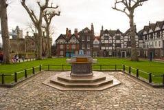 英国伦敦塔 免版税图库摄影