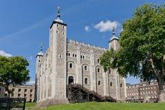 英国伦敦塔 免版税库存图片
