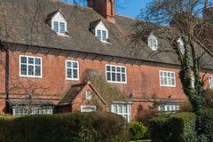 英国住宅房子 免版税库存照片