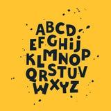 英国信件 假日字体 scrapbooking向量的字母表要素 字法 皇族释放例证
