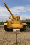 英国做的战车的御者轻量级坦克由IDF夺取了在显示的黎南部在Yad LaShiryon装甲的军团博物馆 库存图片