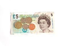 英国全国最低工资£6.31 库存照片