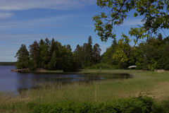 英国公园星期一回购在维堡,俄罗斯 图库摄影