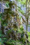 英国公墓的遗骸Monte的Urgull Donostia,西班牙 在Monte Urgull 免版税库存照片