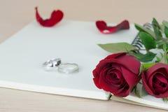 英国兰开斯特家族族徽和圆环结婚提议的 库存图片