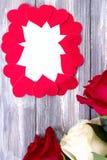 英国兰开斯特家族族徽花束 免版税库存照片