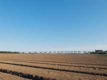 英国农田 免版税库存照片