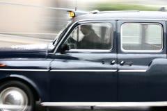 英国出租汽车 免版税库存照片