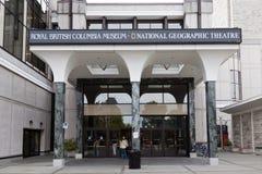 英国加拿大哥伦比亚博物馆维多利亚 免版税库存照片