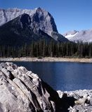 英国加拿大哥伦比亚湖山 免版税库存照片