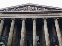 英国博物馆 库存照片