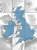 英国商业 库存图片