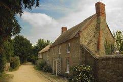 英国国家(地区)村庄 免版税库存照片