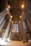 英国国教大教堂利物浦 图库摄影