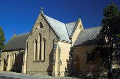 英国国教的教堂moonta 免版税库存图片