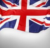 英国国旗旗子 库存图片