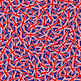 英国国旗样式 免版税库存照片