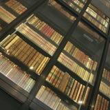 英国图书馆-内部 免版税图库摄影