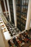 英国图书馆-内部 免版税库存图片