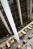 英国图书馆-内部 免版税库存照片