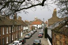 英国场面街道 免版税库存图片