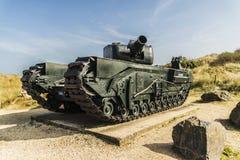 英国坦克 库存图片
