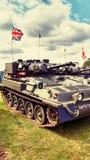 英国坦克 免版税库存图片