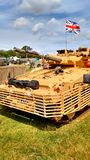 英国坦克 免版税库存照片