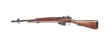 英国埃菲尔德步枪 免版税库存照片