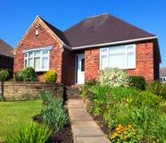 英国城内住宅 免版税库存图片