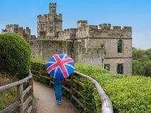英国城堡 库存图片